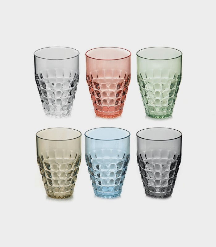 Guzzini set bicchieri alti Tiffany